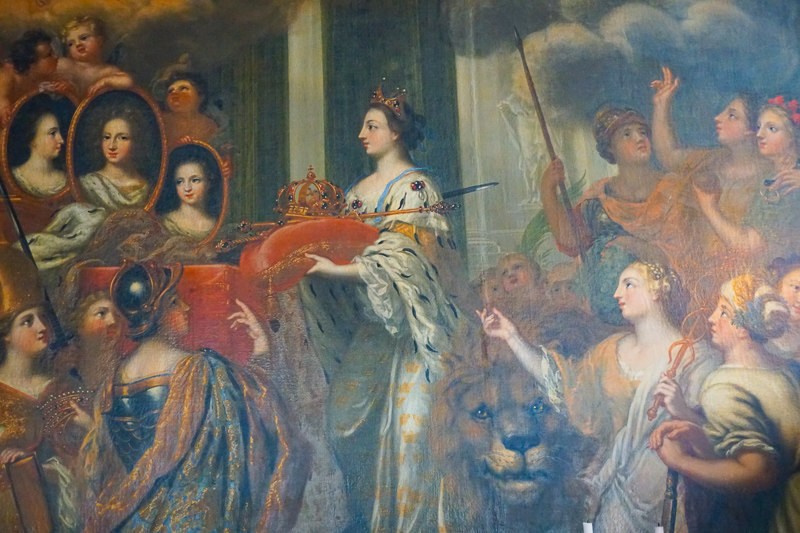 Artwork Drottningholm Palace Sweden