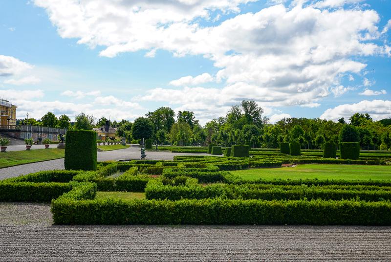 Baroque Garden Drottningholm Palace
