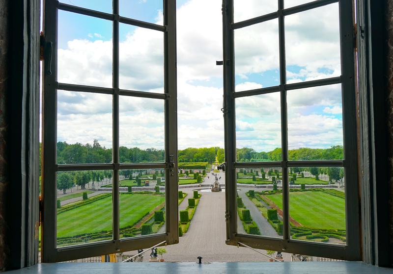 Baroque Garden at Drottningholm Palace in Sweden