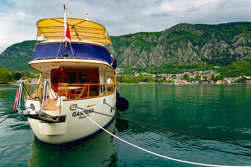 Bay of Kotor at Kotor Montenegro