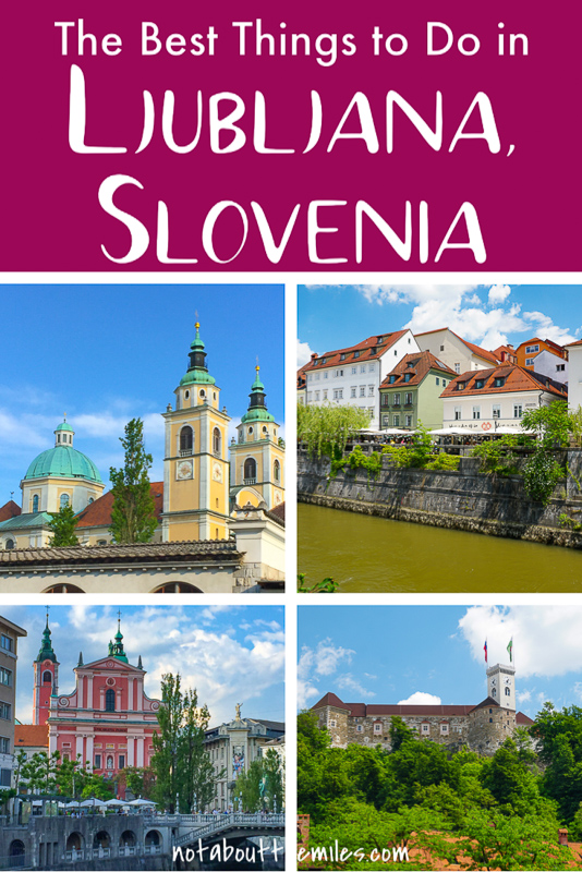 Discover the best things to do in Ljubljana, Slovenia's lovely capital city! Take in the views from the hilltop castle, relax by the Ljubljanica River, and take photos at the Dragon Bridge! Where to stay, where to eat, and the best time to visit Ljubljana!