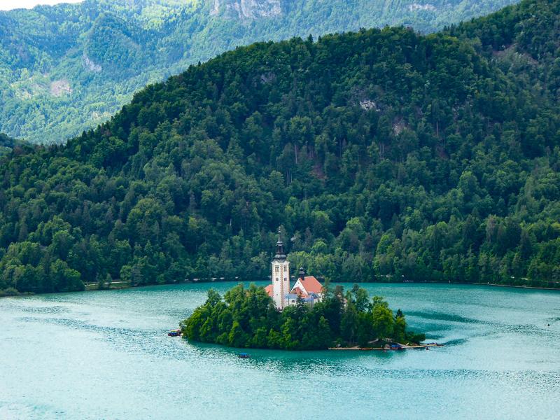 Bled Island Lake Bled Slovenia
