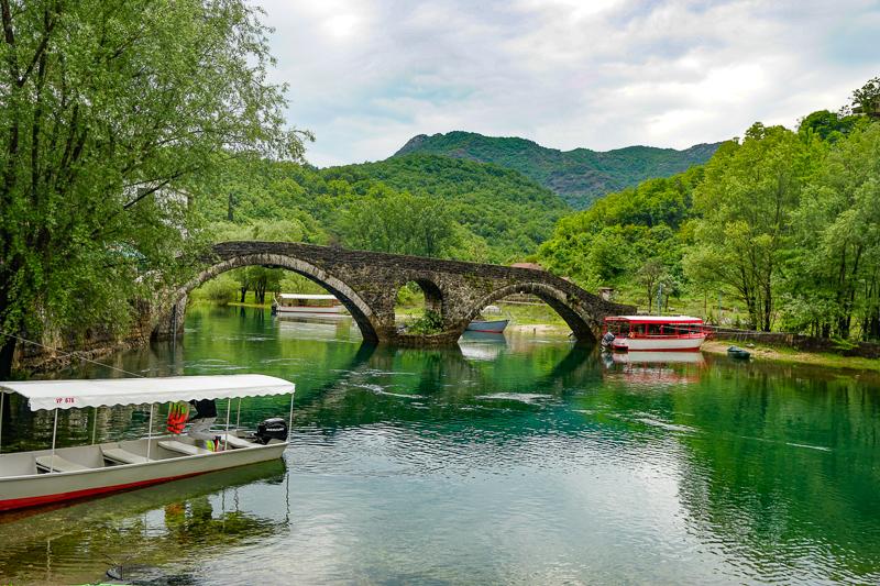 Bridge Rijeka Crnojevica Montenegro