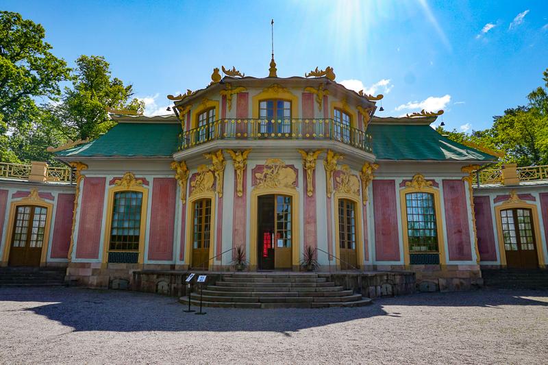 Chinese Pavilion Drottningholm Palace Sweden