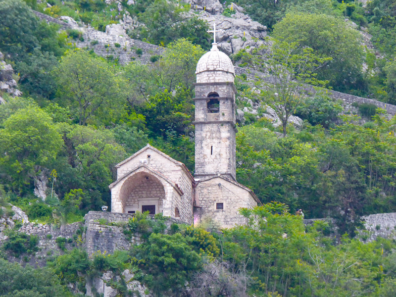 Church of Our Lady of Remedy Kotor Montenegro