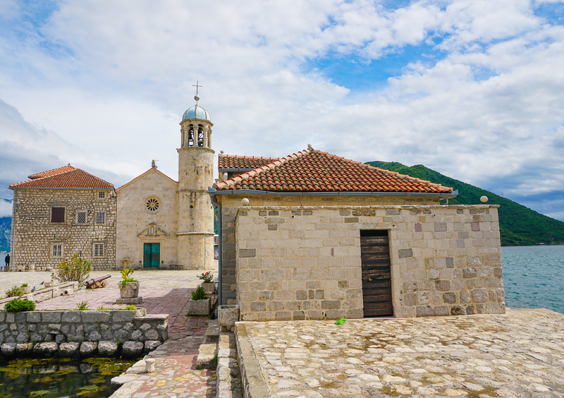 Church of Our Lady of the Rocks Bay of Kotor Montenegro