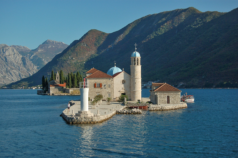 Church of Our Lady of the Rocks Perast Montenegro