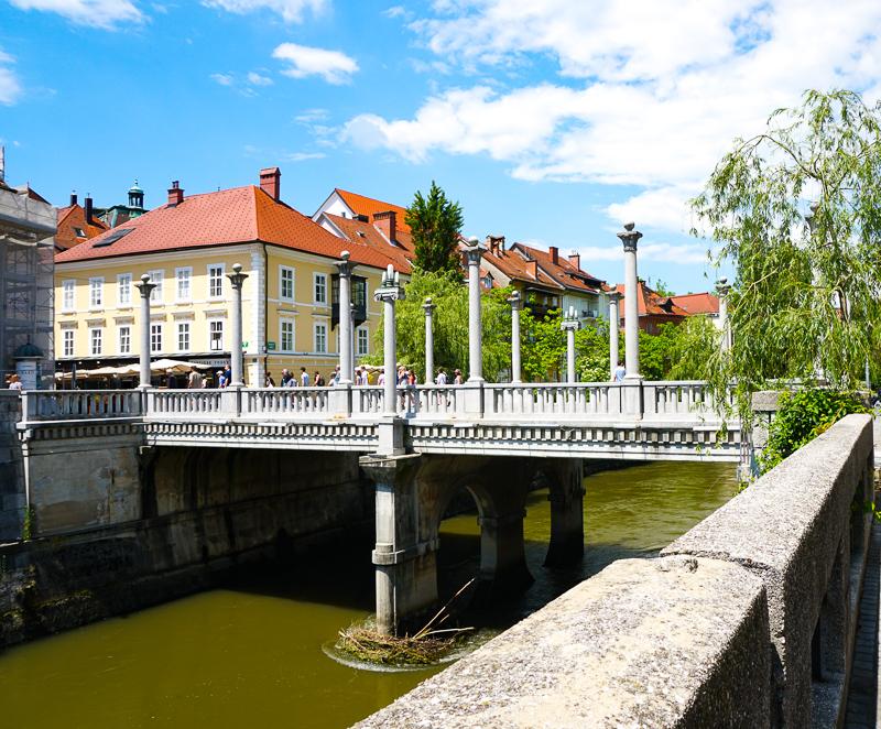 Cobbler's Bridge Ljubljana, Slovenia