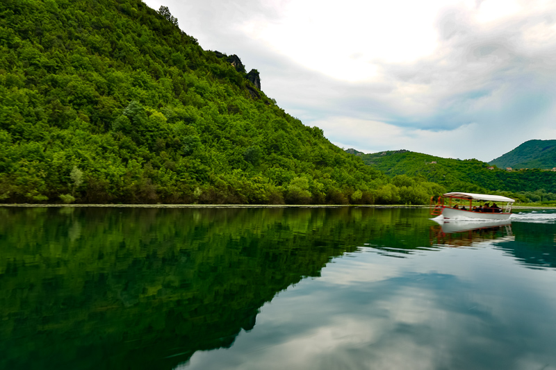 Cruising Lake Skadar in Montenegro