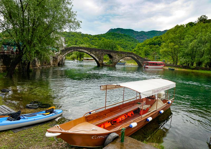 Danilo Bridge Rijeka Crnojevica Montenegro