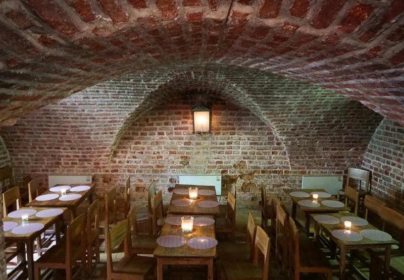 Dining Room Pavilion Cafe Drottningholm Palace Sweden