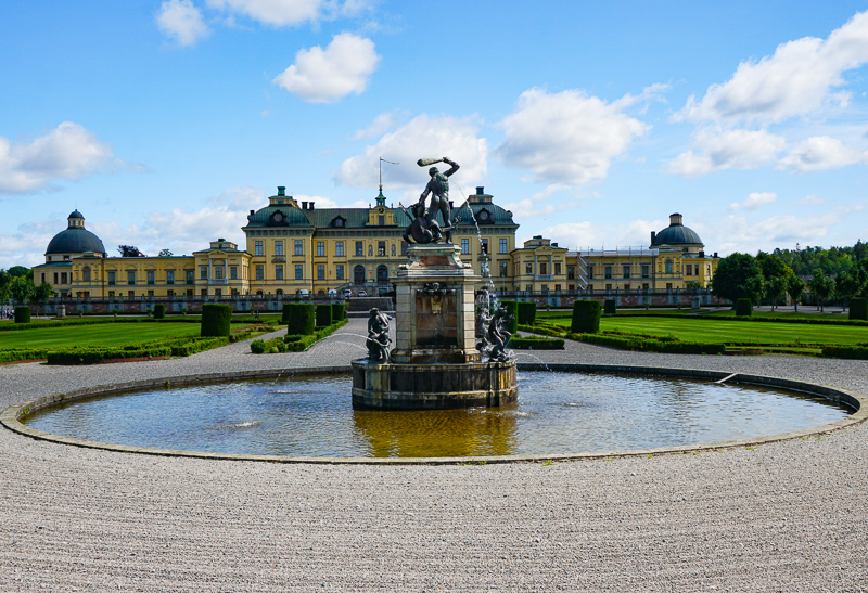 Drottingholm Palace Lovon Sweden