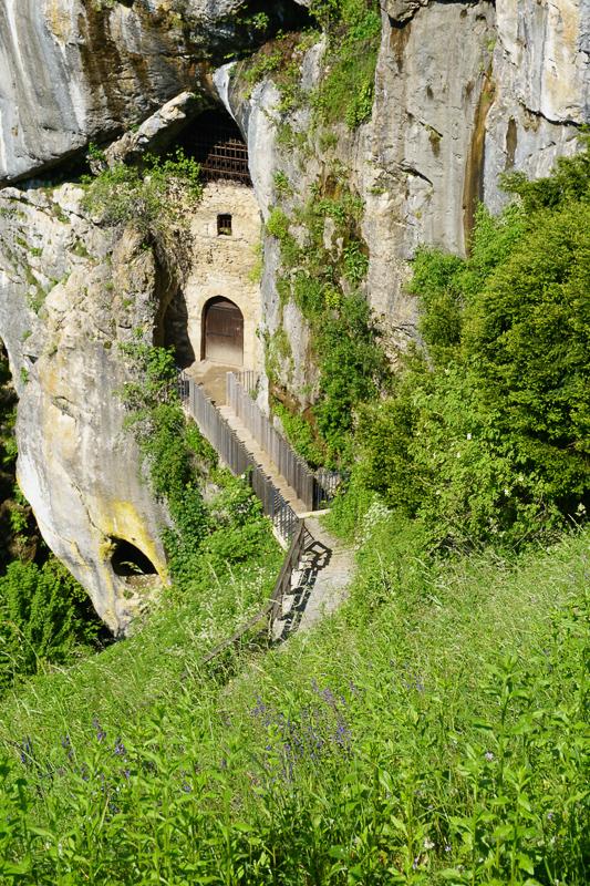 Exit Predjama Castle Cave Tunnel, Slovenia