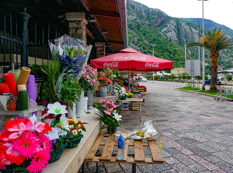 Fresh Market Kotor Montenegro