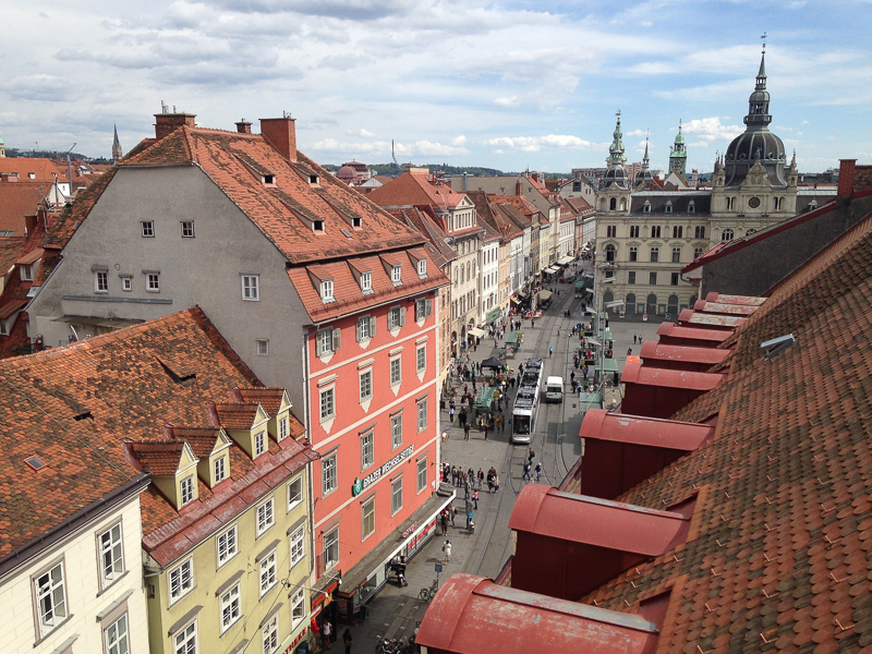 Graz Austria makes for a great day trip from Zagreb!
