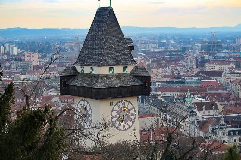Graz Clock Tower, Graz, Austria