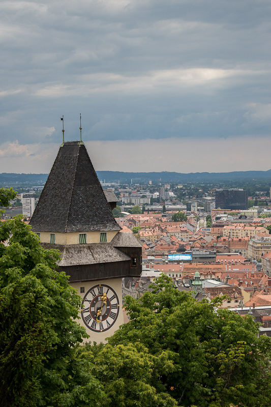 The Clock Tower in Graz Austria