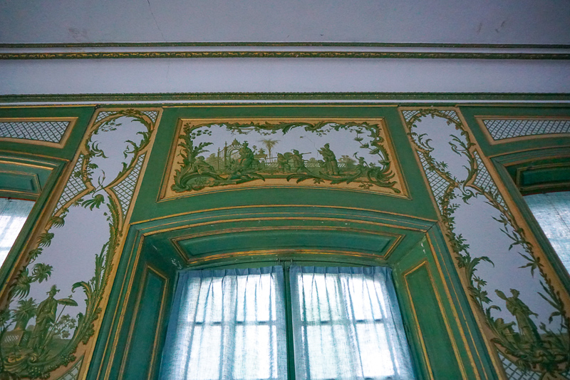 Green Room Chinese Pavilion Drottningholm Palace Sweden