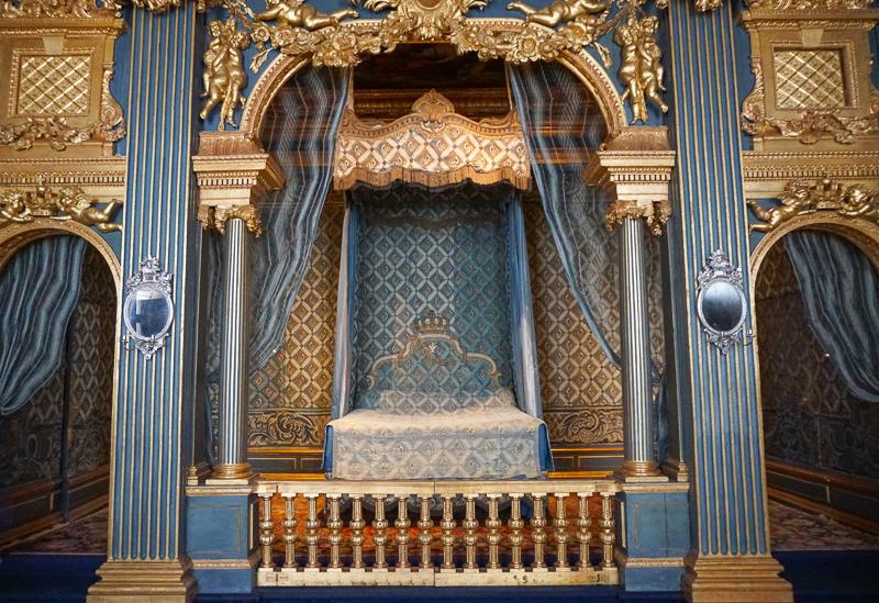 Hedwig Eleonora's Bedroom, Drottningholm Palace, Sweden