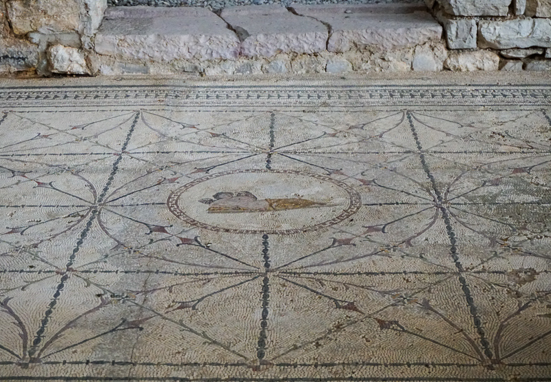 Hypnos mosaic Risan Montenegro