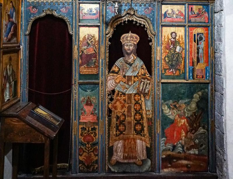 Interior Saint Luke's Church Kotor Montenegro