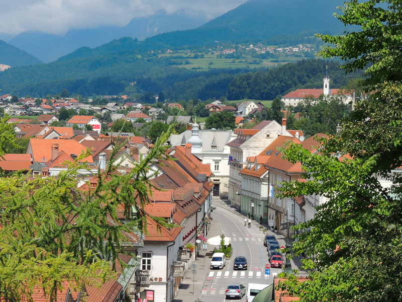 Kamnik is a charming medieval town inSlovenia