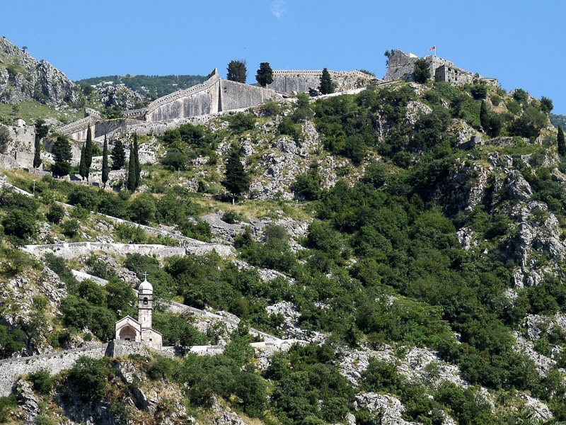 Kotor Town Walls, Kotor, Montenegro