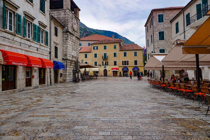 Main Square Kotor Montenegro