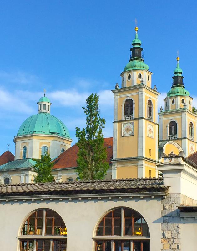Ljubljana Cathedral in Slovenia