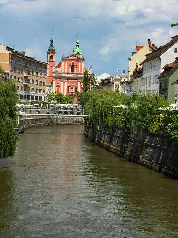 Ljubljana Historical Center, Slovenia