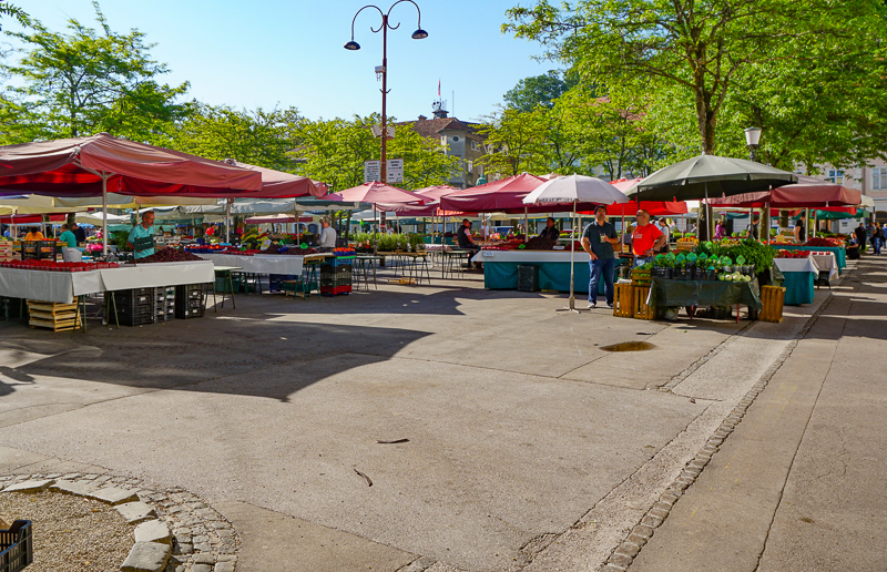 Open Market Ljubljana Slovenia