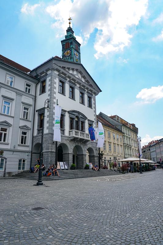 Ljubljana's Town Hall