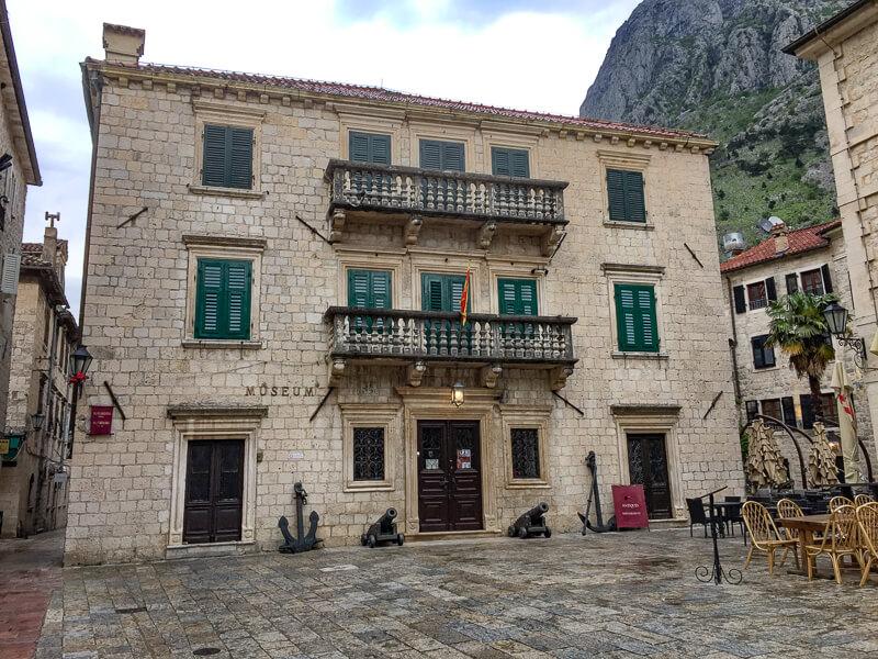 Maritime Museum in Old Town Kotor, Montenegro