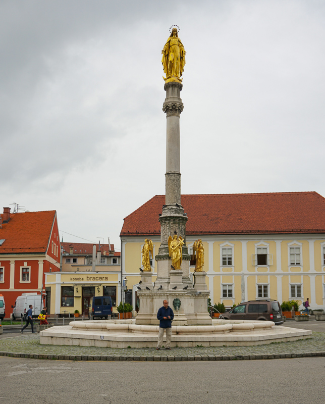 Mary Column Zagreb Croatia