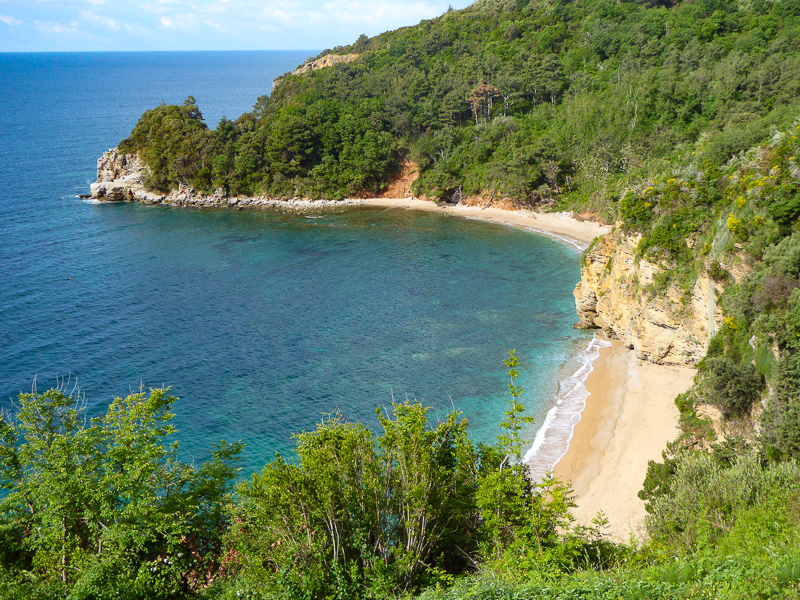 Mogren Beach Budva Montenegro