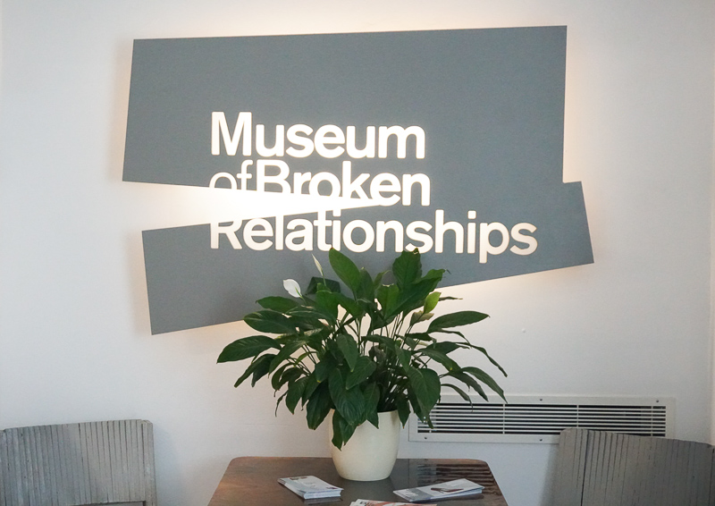 Museum of Broken Relationships Zagreb Croatia
