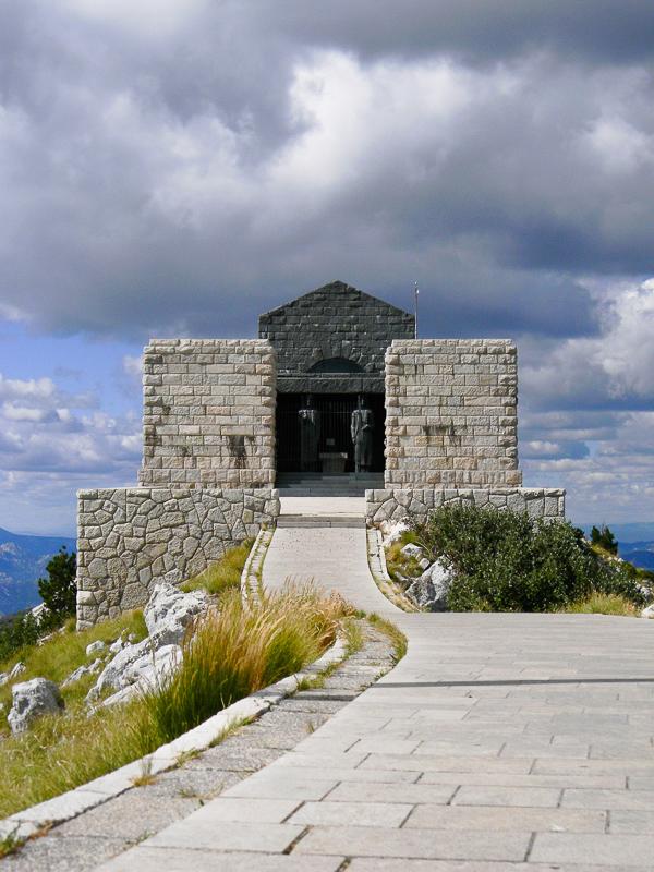 Njegos Mausoleum Lovcen National Park Montenegro