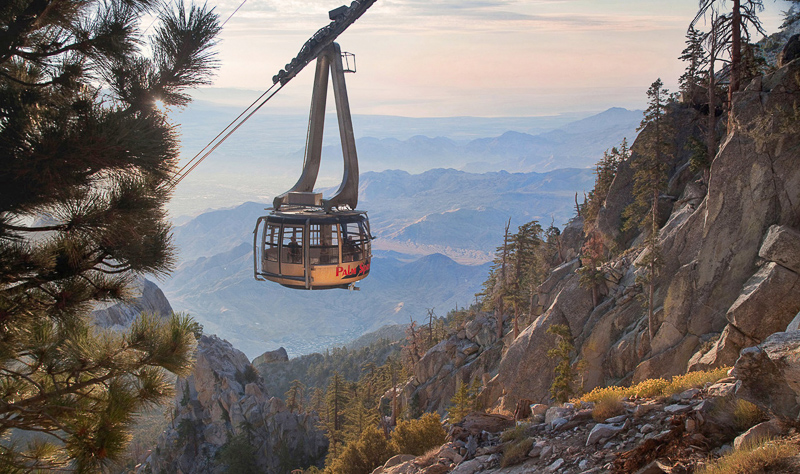 Palm Springs Aerial Tramway Tramcar