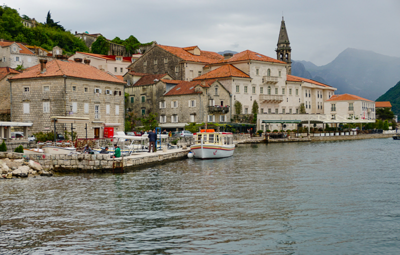 Perast Montenegro from Waterfront