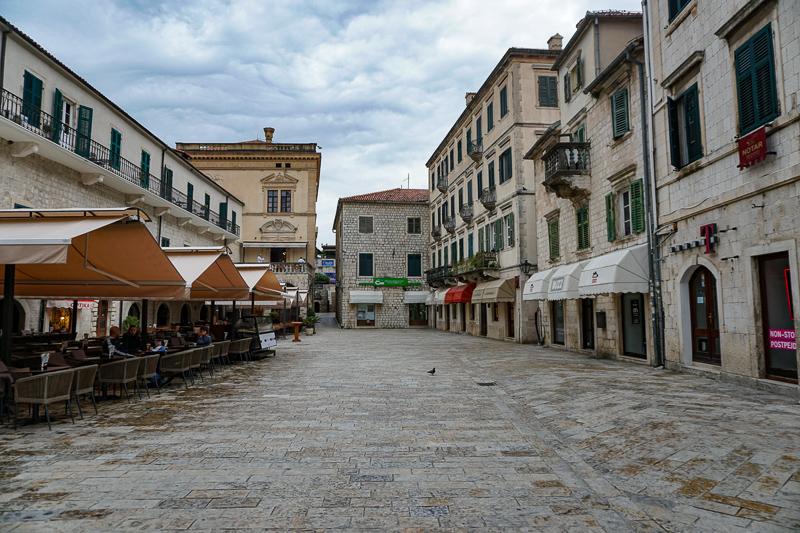 Piazza of Arms Kotor Montenegro