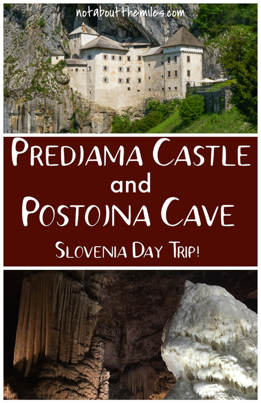 Visit Postojna Cave and Predjama Castle on a day trip from Ljubljana or the Slovenian coast. Click for the complete guide to this mazing cave and castle tour!