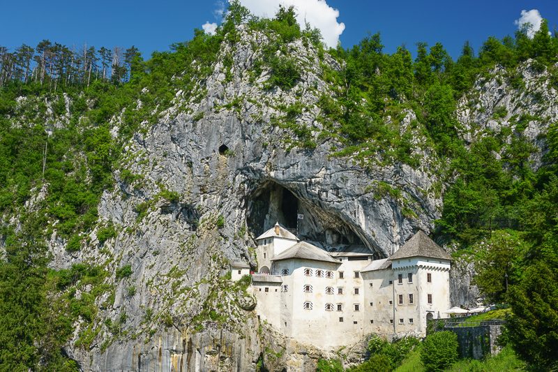 Predjama Castle Slovenia and Secret Cave Exit