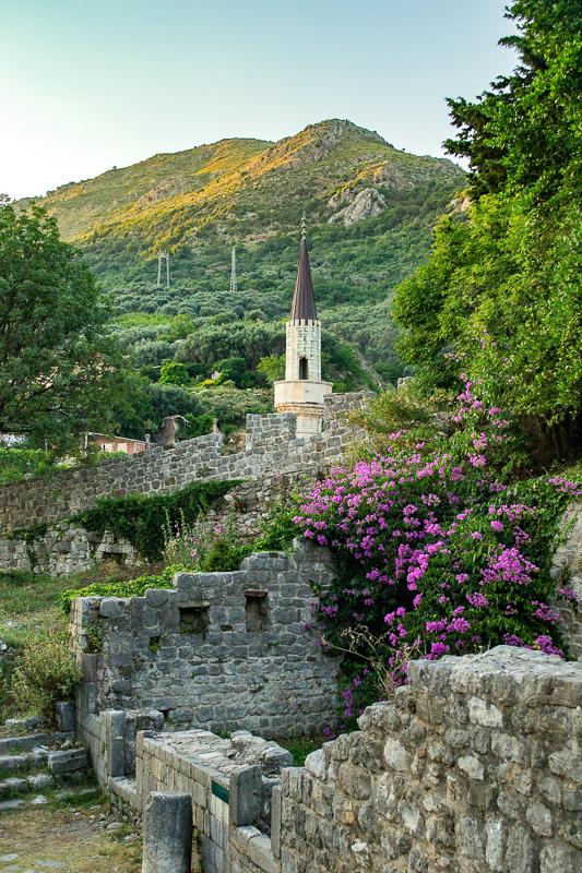 Ruins in Stari Bar Montenegro