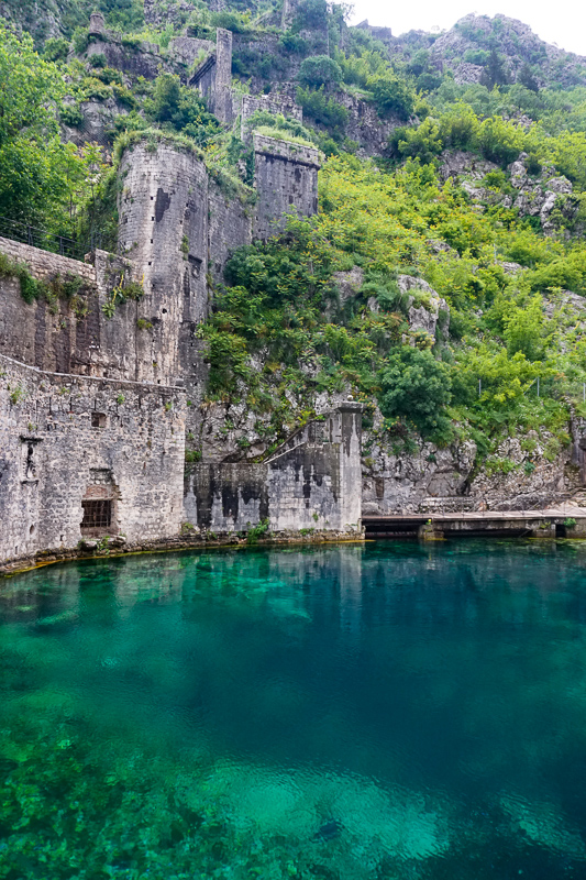Kotor Walls and Skurda River Montenegro