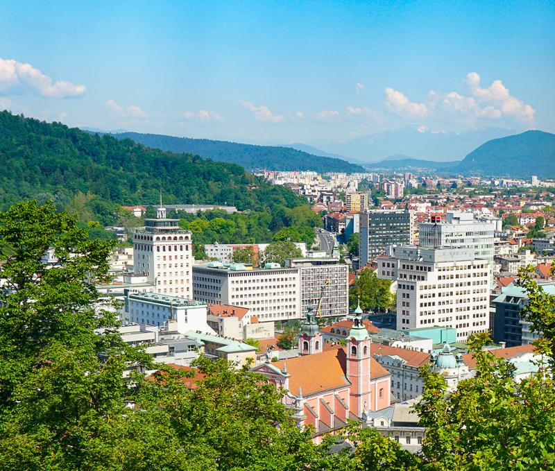 Skyscraper, Ljubljana, Slovenia