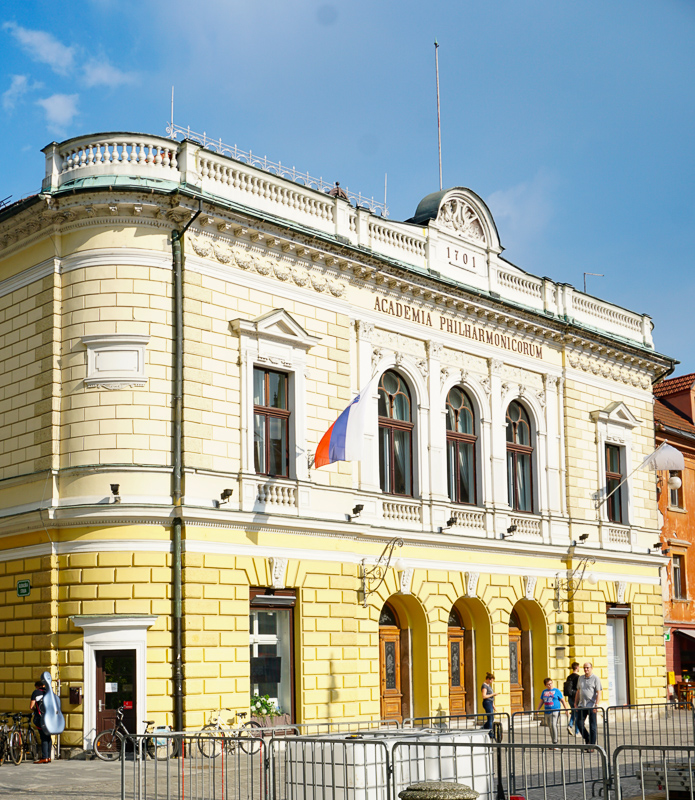 Slovenian Philharmonic Hall Ljubljana Slovenia