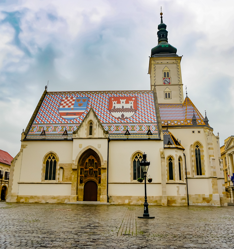 St. Mark's Church Zagreb Croatia