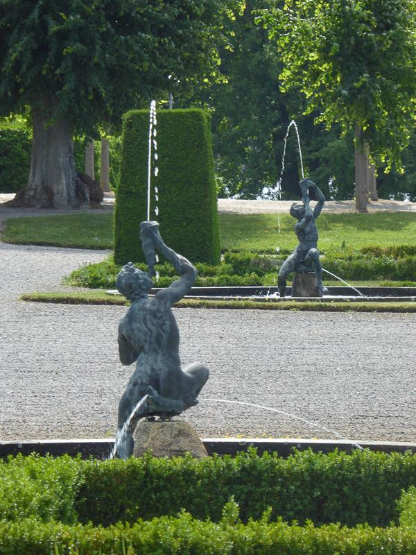 Statuary Baroque Garden Drottningholm Palace