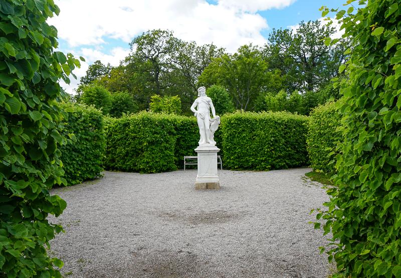 Statue Drottningholm Palace Sweden