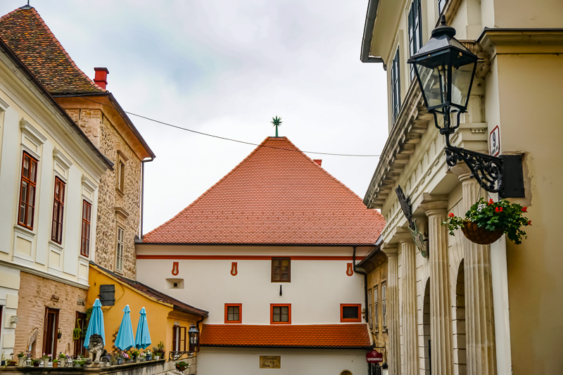 Stone Gate Roof Zagreb Croatia